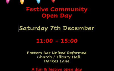 FUN & FESTIVE OPEN DAY AT TILBURY HALL